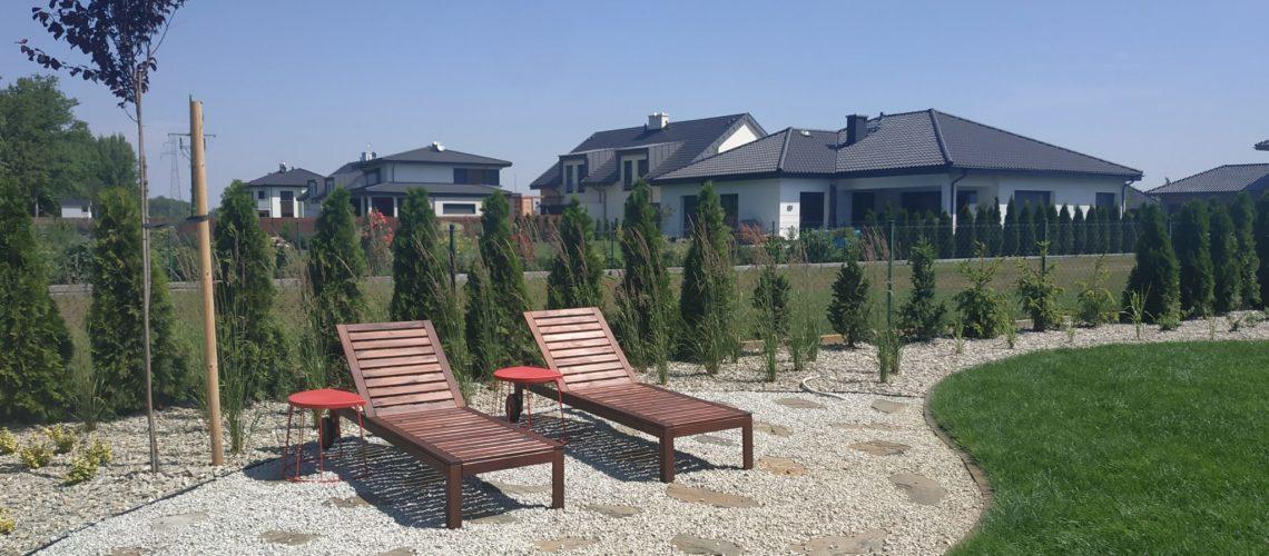 Realizacja projektu ogrodu we Wrocławiu